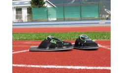 Športni natikači art. 104 črna zelena