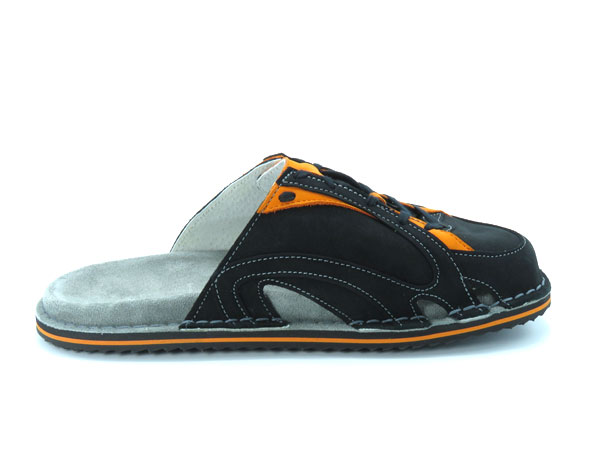 Športni natikači art. 108 črna oranžna