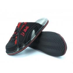 Športni natikači art. 108 črna rdeča