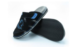 Udobni natikači art. 112 črna modra