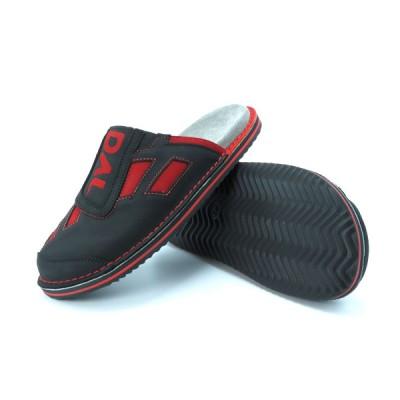 Športni natikači art. 115 črna rdeča