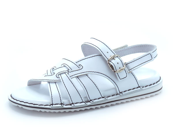 Udobni sandali art. 156 bela