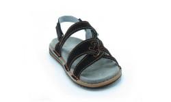 Udobni sandali art. 156 črna