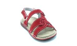 Udobni sandali art. 156 rdeča