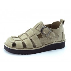 Usnjeni sandali art. 900 bež
