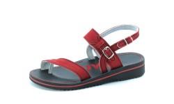 Ortopedski sandali art. 953 rdeča
